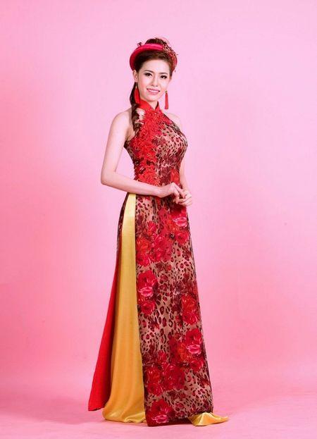 A khoi Quynh Ngan dien ao cach tan dai do ruc chao xuan Binh Than 2016 - Anh 4
