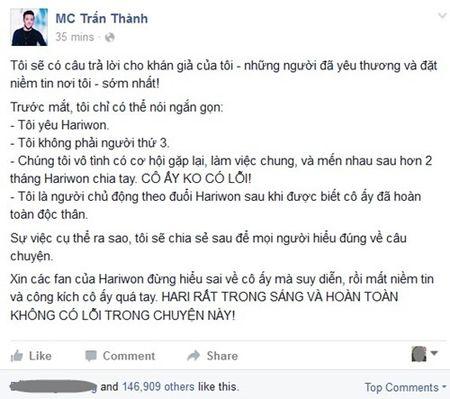 Tran Thanh thua nhan yeu Hariwon - Anh 4