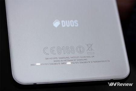 Danh gia Samsung Galaxy A5 (2016): hoan thien tot, pin ben - Anh 8