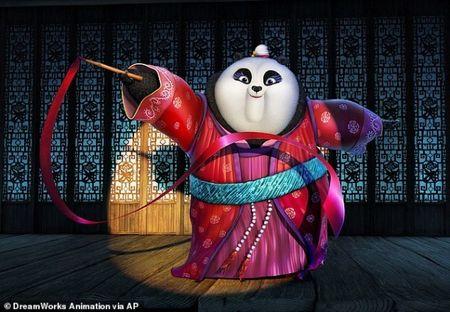 'Kung Fu Panda 3' dan dau bang xep hang phim an khach - Anh 1
