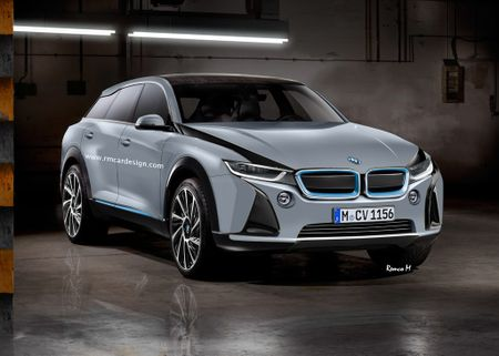Sau i3 va xe the thao i8, SUV BMW i5 se som xuat hien? - Anh 1