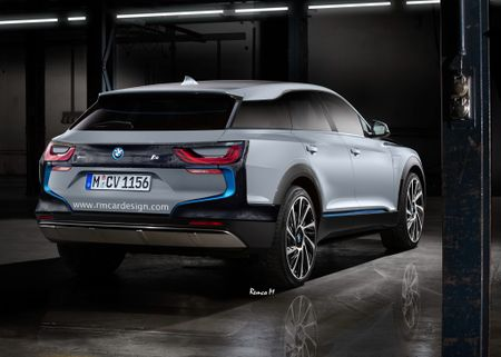 Sau i3 va xe the thao i8, SUV BMW i5 se som xuat hien? - Anh 2