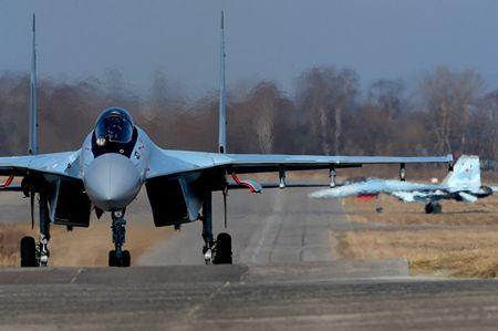 Su-35S Nga – Chien dau co nguy hiem nhat the gioi - Anh 1