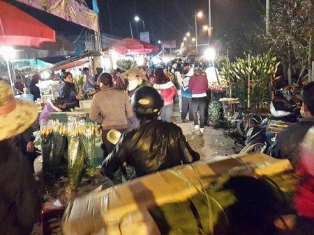 Cho hoa dem Quang An: Ruc ro va nhon nhip ngay giap tet - Anh 15