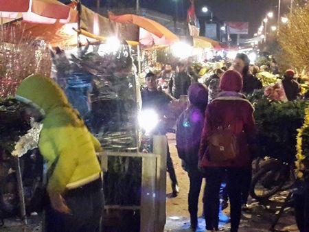 Cho hoa dem Quang An: Ruc ro va nhon nhip ngay giap tet - Anh 16