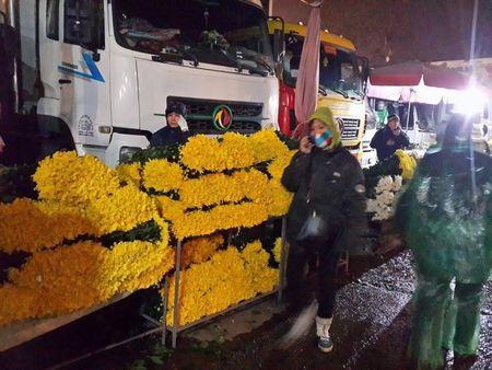 Cho hoa dem Quang An: Ruc ro va nhon nhip ngay giap tet - Anh 6