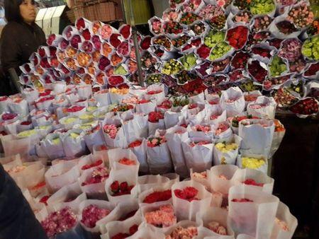 Cho hoa dem Quang An: Ruc ro va nhon nhip ngay giap tet - Anh 7