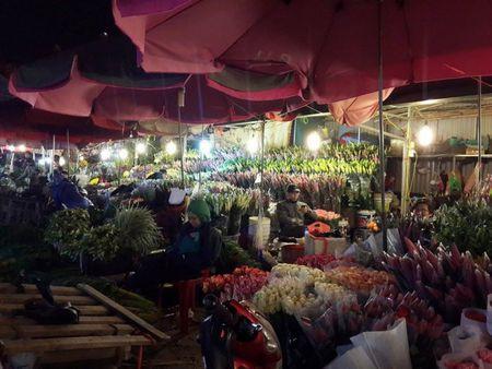 Cho hoa dem Quang An: Ruc ro va nhon nhip ngay giap tet - Anh 8