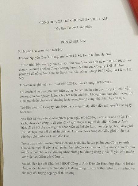 Doi QLTT so 33 'lam ngo' cho san pham ban cua Cong ty Anh Dao - Anh 1