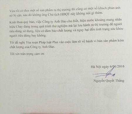 Doi QLTT so 33 'lam ngo' cho san pham ban cua Cong ty Anh Dao - Anh 2