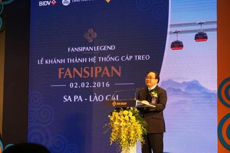 Khanh thanh cap treo dat 2 ky luc Guinness the gioi - Fansipan Sapa - Anh 2