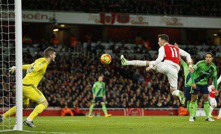 Phao tit ngoi, Arsenal chia diem Southampton Highlights Arsenal 0 - 0 Southampton - Anh 1