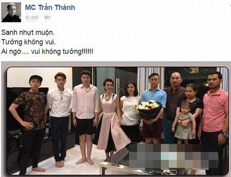 Hari Won vang bong dang ngo trong sinh nhat cua Tran Thanh - Anh 1