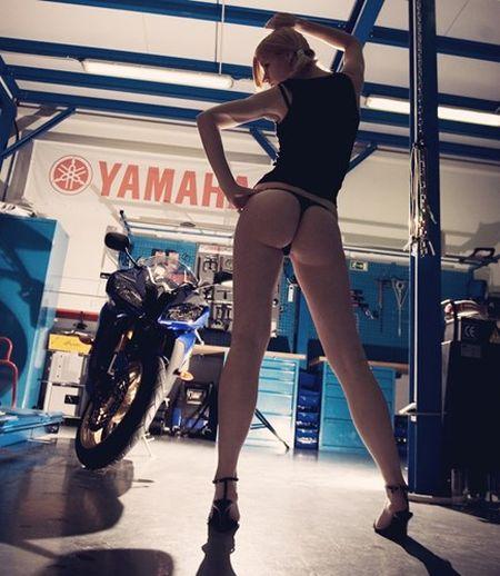 """Nguoi dep cuong buc """"ngua hoang"""" sportbike Yamaha R6 - Anh 5"""