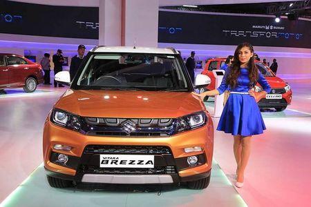 Suzuki chinh thuc ra mat crossover gia re Vitara Brezza - Anh 1