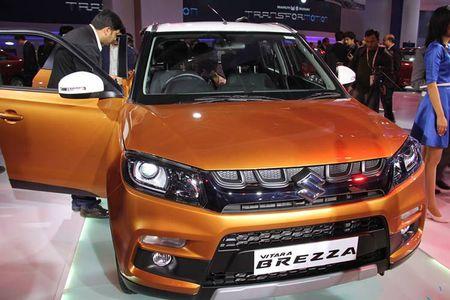 Suzuki chinh thuc ra mat crossover gia re Vitara Brezza - Anh 2