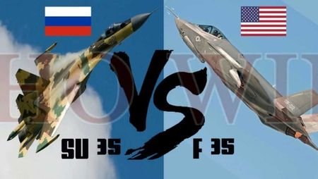 """F-35 """"thua dau"""" truoc Su-35, My be mat truoc Nga? - Anh 1"""