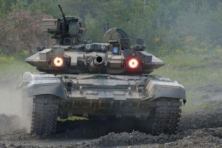Nga lan dau xac nhan dua xe tang T-90 tham chien tai Syria - Anh 1