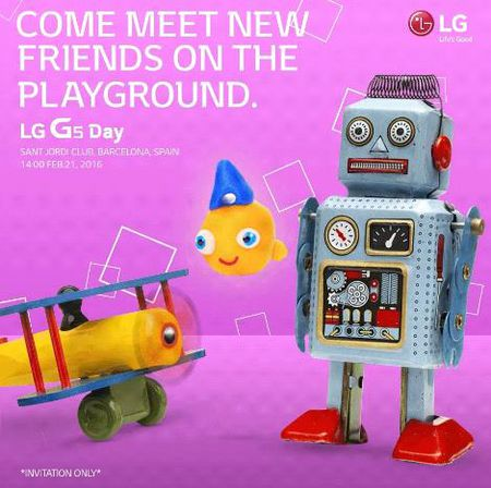 LG: smartphone cao cap G5 se xuat hien tai MWC 2016 - Anh 1