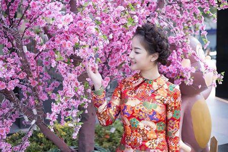 Ca si Tran Ha Thuy bi nham la hoa hau Nguyen Thi Huyen giua Sai Gon - Anh 2