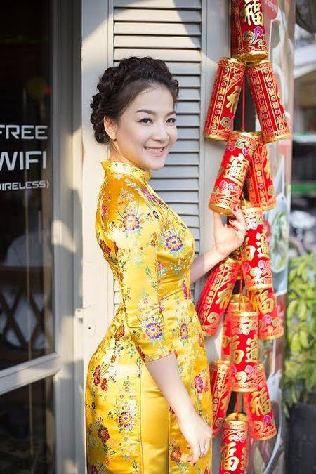 Ca si Tran Ha Thuy bi nham la hoa hau Nguyen Thi Huyen giua Sai Gon - Anh 5