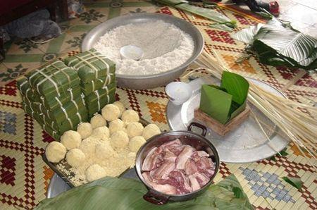 Tham 5 lang goi banh chung nuc tieng toan mien Bac - Anh 1