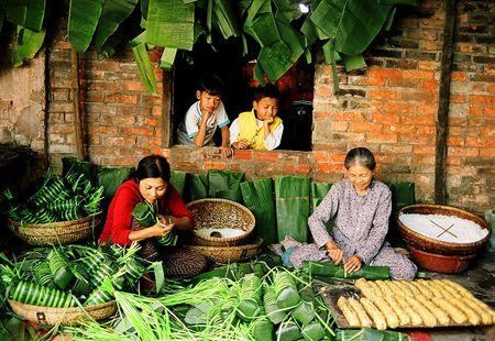 Kham pha net am thuc dac trung tren mam co tet mien Nam - Anh 1