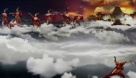 Luc Tieu Linh Dong tai xuat voi Kim hau nao xuan tren nen ky xao 3D - Anh 4