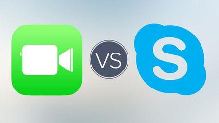 Chon FaceTime hay Skype de thoai tren iPhone ngay Tet? - Anh 1