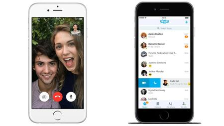 Chon FaceTime hay Skype de thoai tren iPhone ngay Tet? - Anh 3
