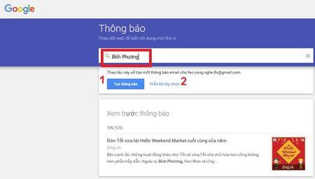 Huong dan xem tin tuc tren Google Alerts nhung ngay nghi Tet - Anh 1