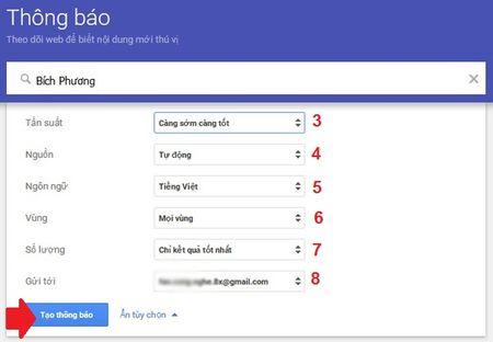 Huong dan xem tin tuc tren Google Alerts nhung ngay nghi Tet - Anh 2