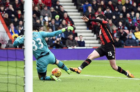 Ha Bournemouth 2-0, Arsenal tro lai duong dua vo dich - Anh 11
