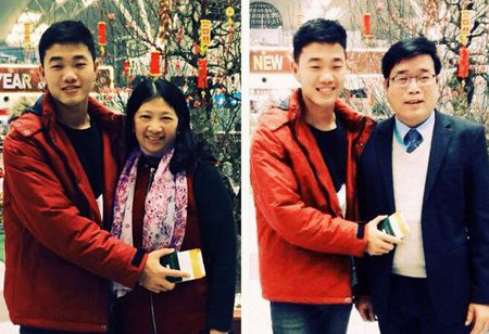 Xuan Truong chuc Tet bo me tu Han Quoc - Anh 1