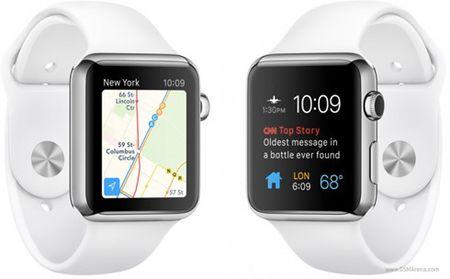 Apple Watch chiem 2/3 so luong dong ho thong minh ban ra nam 2015 - Anh 1