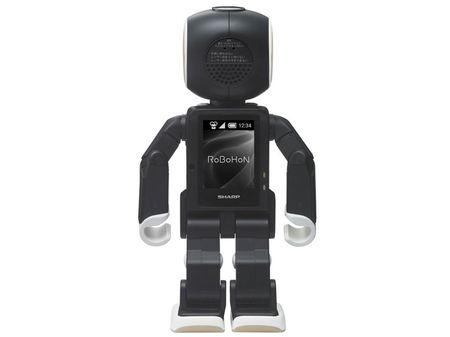 Tim hieu chi tiet ve chu robot kiem smartphone cua Sharp - Anh 11