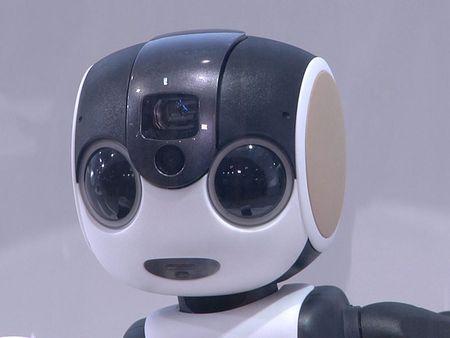 Tim hieu chi tiet ve chu robot kiem smartphone cua Sharp - Anh 12