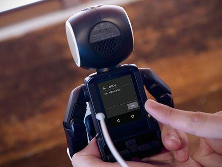 Tim hieu chi tiet ve chu robot kiem smartphone cua Sharp - Anh 13