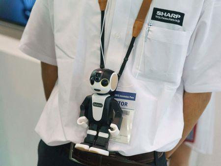 Tim hieu chi tiet ve chu robot kiem smartphone cua Sharp - Anh 16