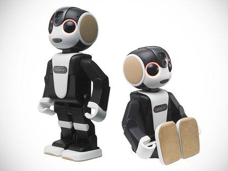 Tim hieu chi tiet ve chu robot kiem smartphone cua Sharp - Anh 1