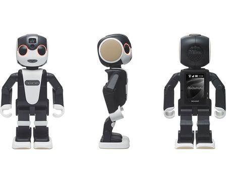 Tim hieu chi tiet ve chu robot kiem smartphone cua Sharp - Anh 2