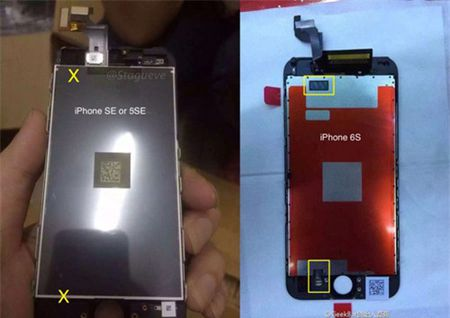Lo anh man hinh iPhone 5se, khong co 3D Touch - Anh 1