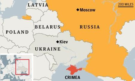 Nguoi Ukraine khong con muon Crimea, lanh dao kho nhin nhau - Anh 1