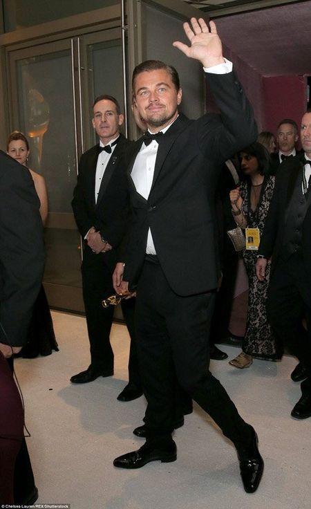 Hau Oscar, Leonardo qua vui quen ca tuong vang - Anh 1