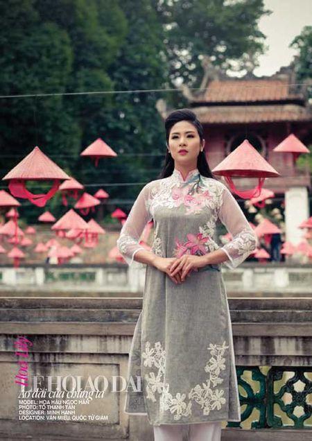 Dan giai nhan mot thoi hoi tu trong Le hoi Ao dai - Anh 1