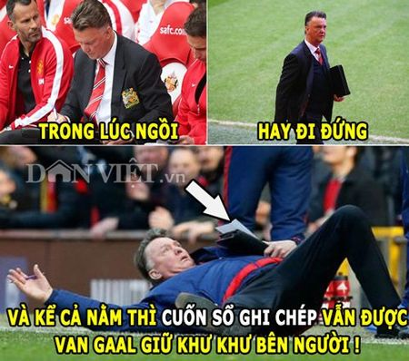 "ANH CHE (1.3): Van Gaal thich ""om so"", Wenger ""di ung"" voi tien dao 18 tuoi - Anh 1"