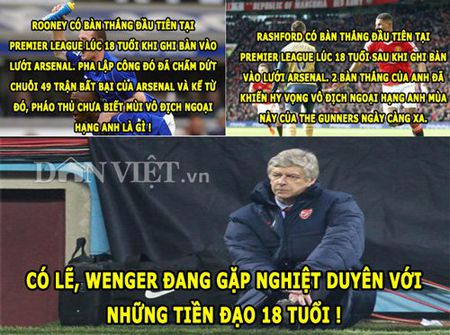 "ANH CHE (1.3): Van Gaal thich ""om so"", Wenger ""di ung"" voi tien dao 18 tuoi - Anh 2"