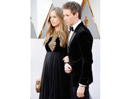 Nhung ba bau xinh dep tren tham do Oscars 2016 - Anh 6