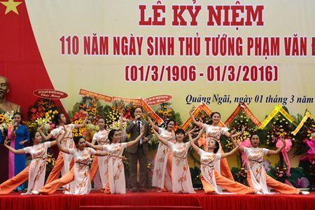 Cac dong chi lanh dao Dang, Nha nuoc du le Ky niem 110 nam Ngay sinh Thu tuong Pham Van Dong - Anh 7