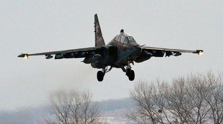 Su-25 Nga roi, phi cong tu nan - Anh 1